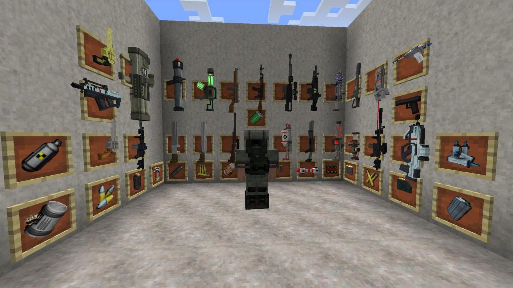 Коды на Майнкрафт на оружие