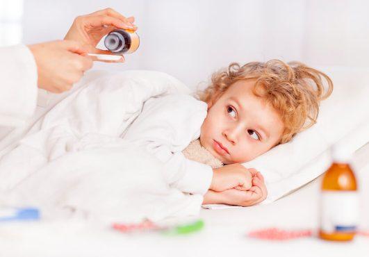 как давать антибиотик ребенку