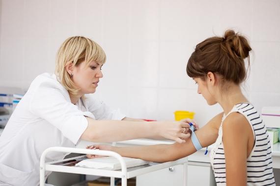 сдать анализы крови