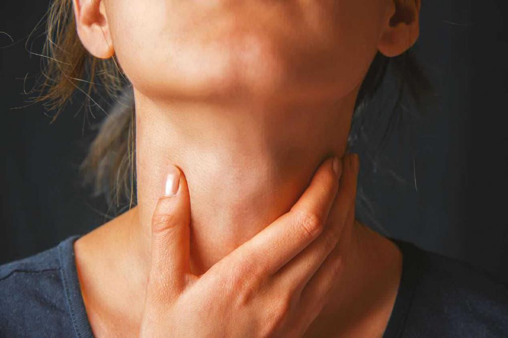 аллергическая боль в горле и кашель