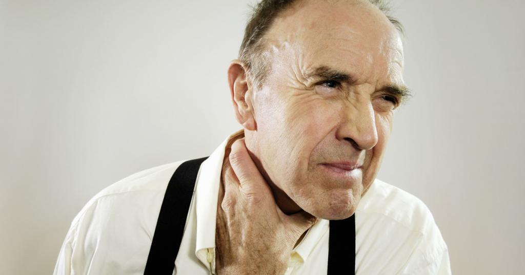 аллергическая боль в горле