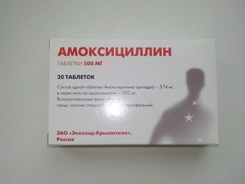 Популярный антибиотик