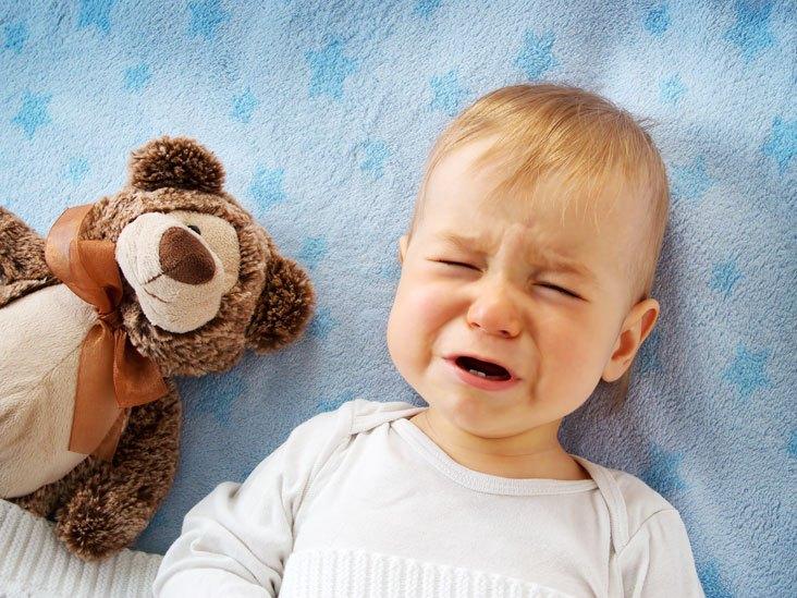 Плач у малыша