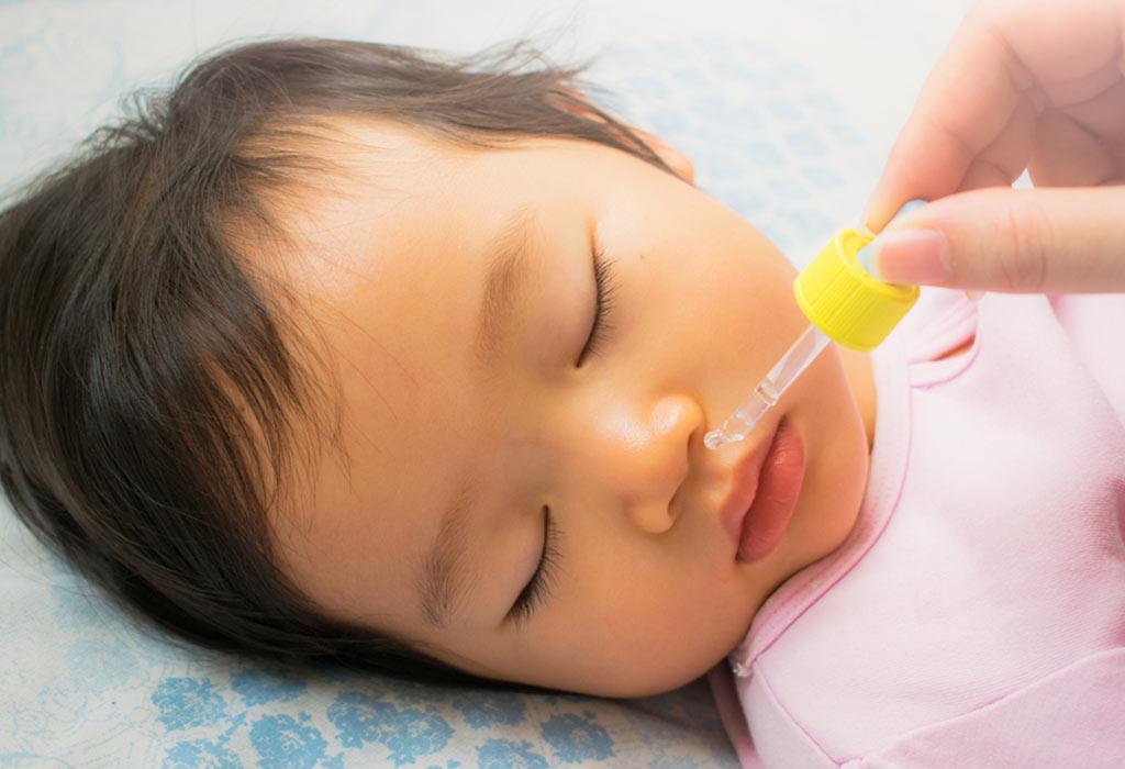 Как вылечить насморк у ребенка одного года thumbnail