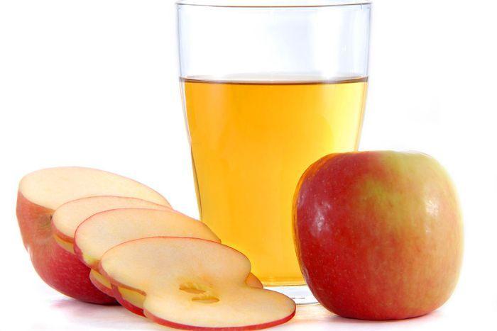 Яблочный уксус при температуре