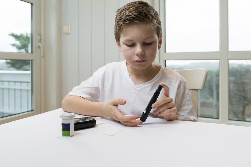 тестирование глюкометром