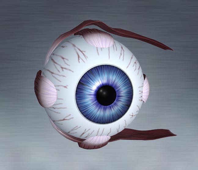 Из-за чего белки глаз становятся голубыми?