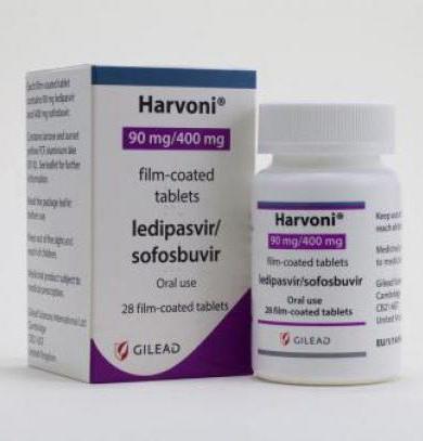 Медпрепарат от гепатита с