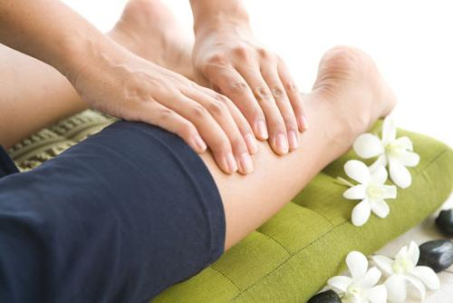 массаж при лимфостазе ног