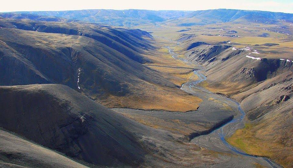 горы Бырранга