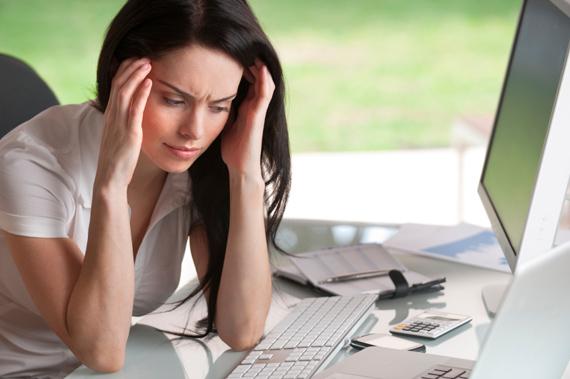 Стресс влияет на менструальный цикл