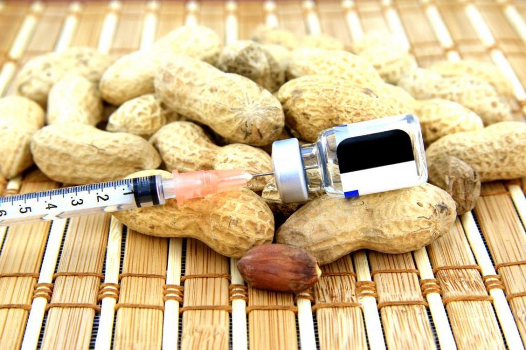 аллергия на орехи у взрослых