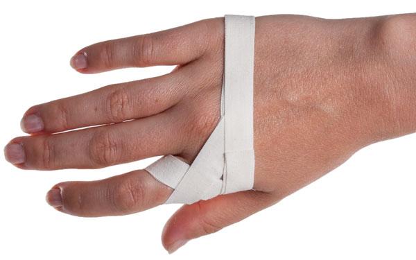 Фиксация пальца