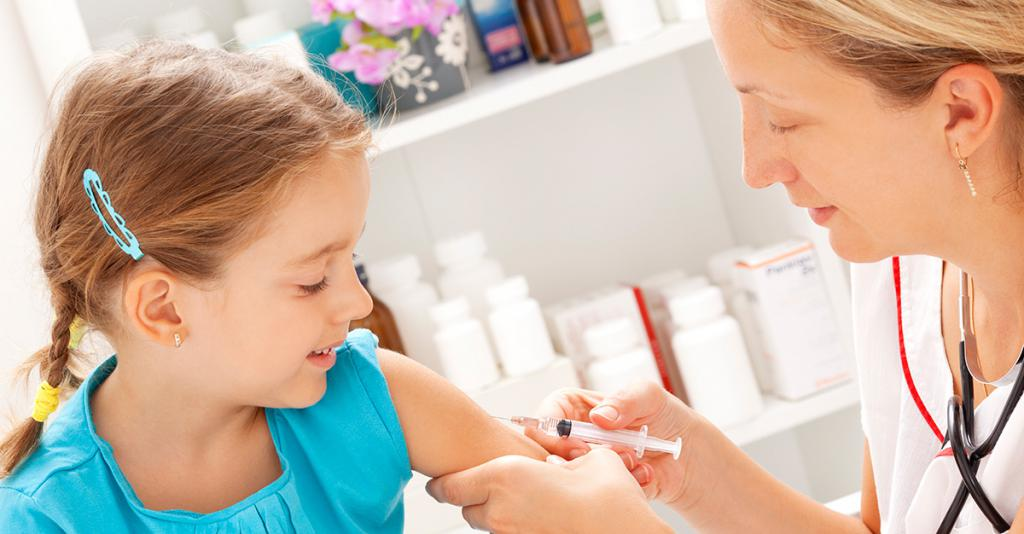 Дети вакцина