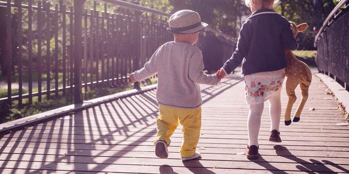 Гуляющие дети