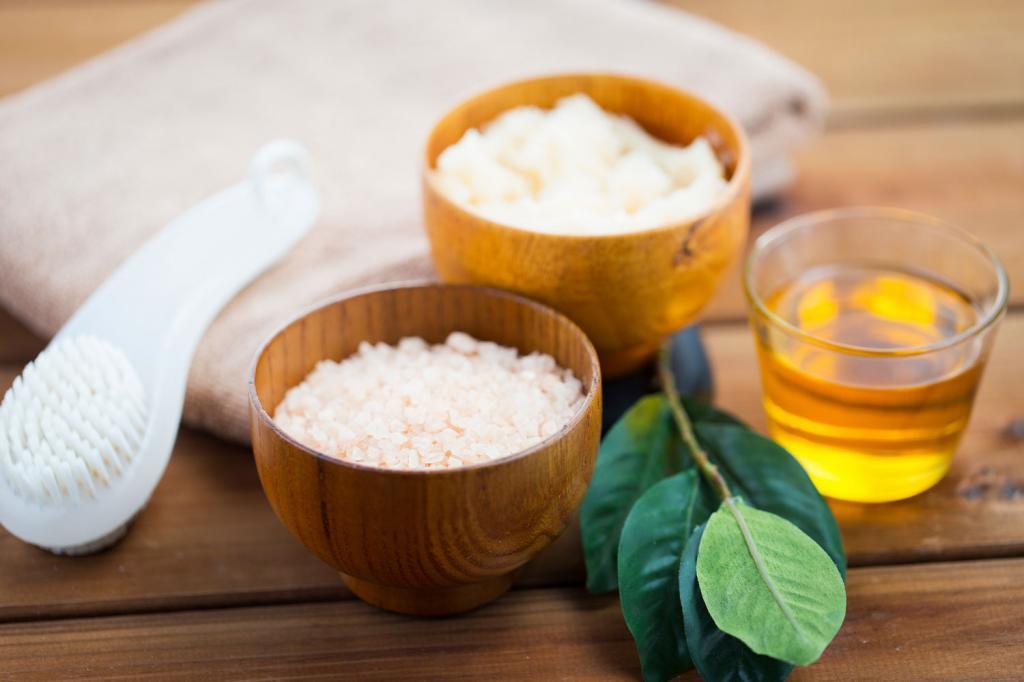 солевой скраб для кожи тела
