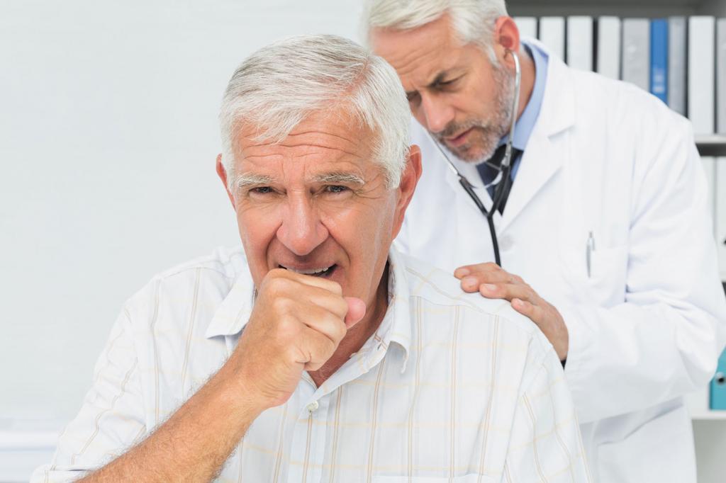 удушающий кашель