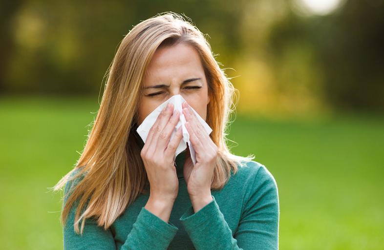может ли аллергия дать температуру