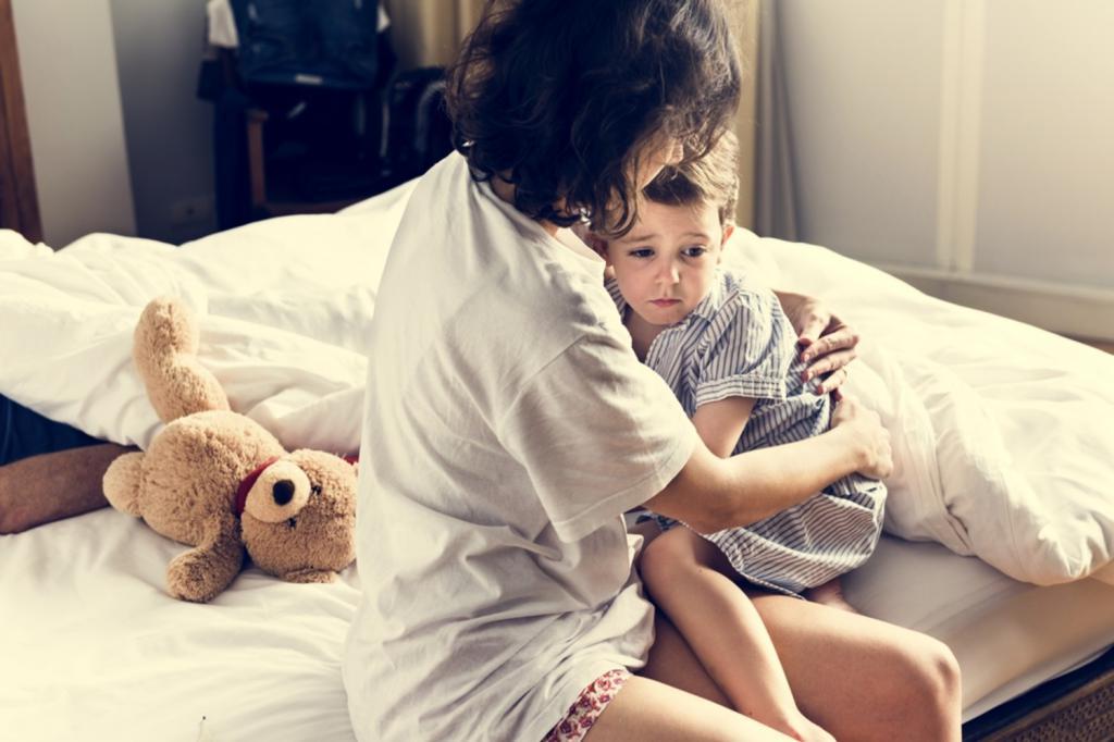 что делать при ночной истерике ребенка