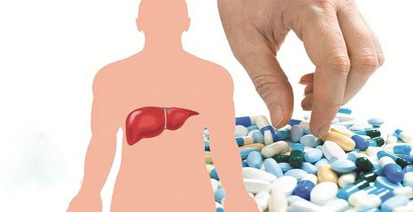отравление медикаментами и печень