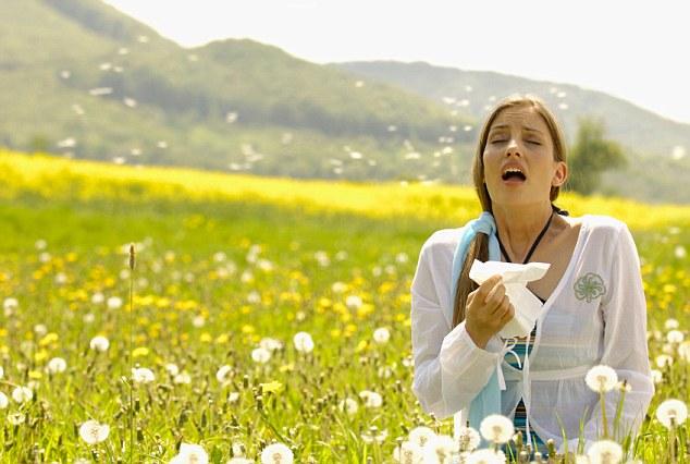 Приступы аллергического кашля
