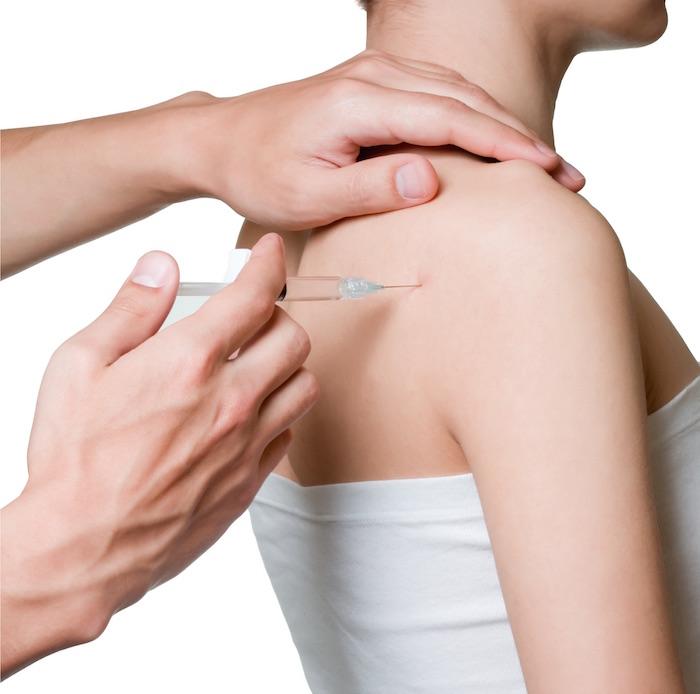 Блокада плечевого сустава