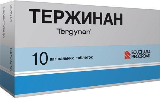 "Препарат ""Тержинан"""