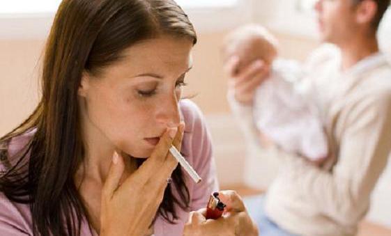 Курение мамы и астма у детей