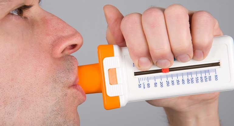 Пикфлометр для астматиков