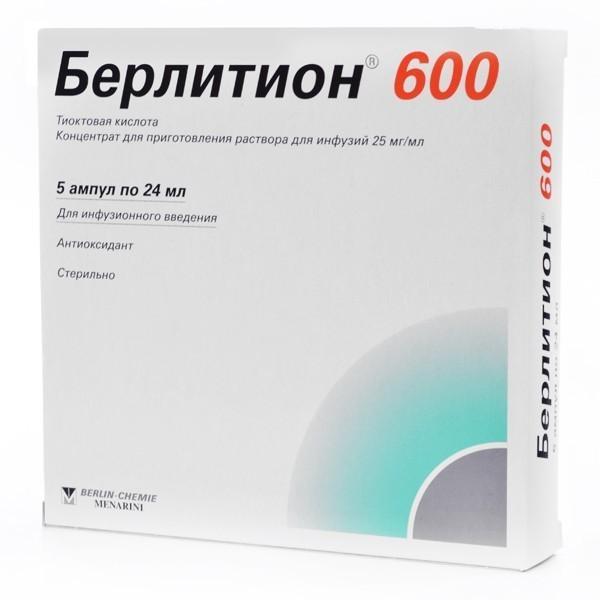 препараты тиоктовой кислоты показания к применению