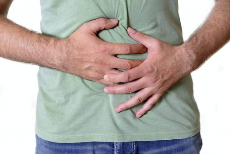 перегиб желчного пузыря симптомы