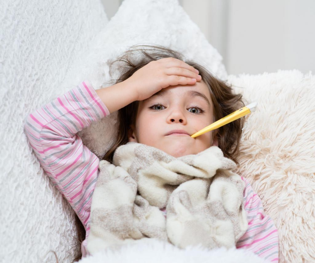 """""""Амиксин"""" при гриппе у детей"""