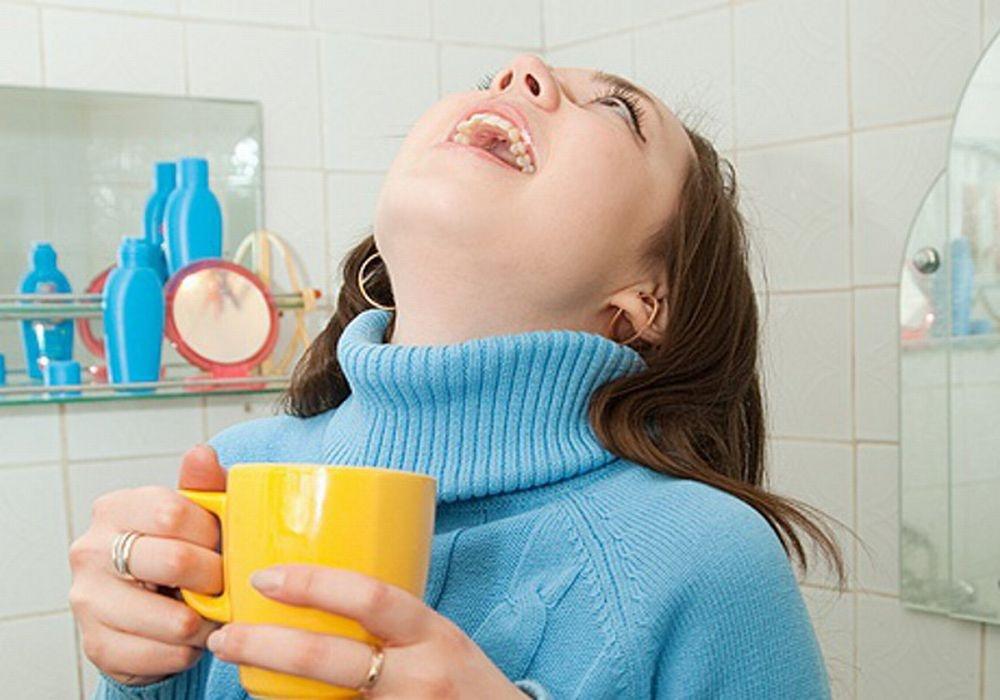 боль в носоглотке горло не болит