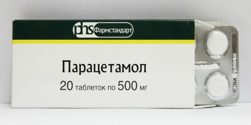 Парацетамол в таблетках