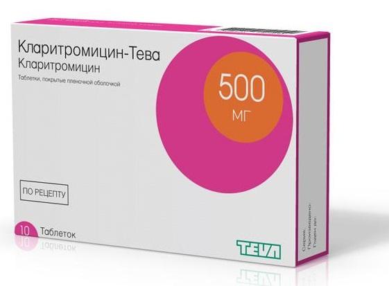 кларитромицин дозировка