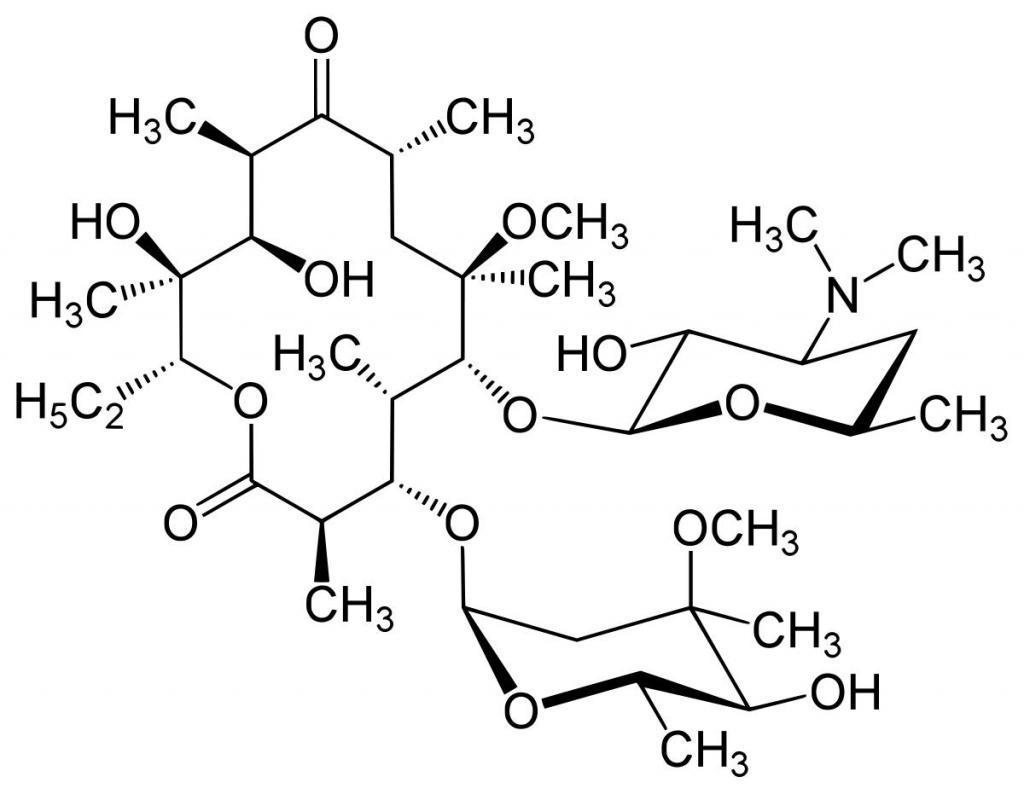 кларитромицин показания