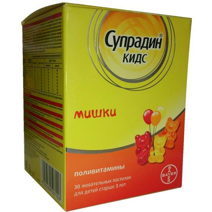 супрадин витамины инструкция