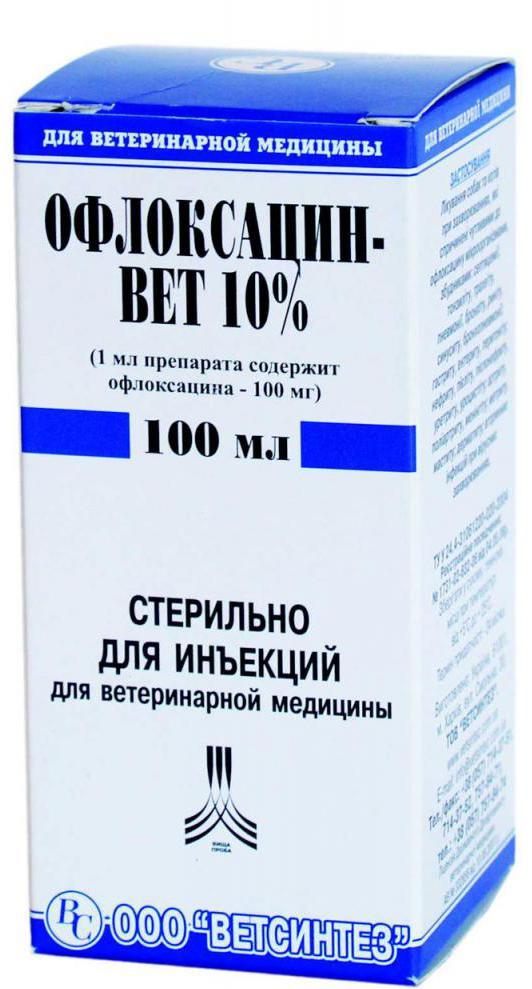 офлоксацин инъекции