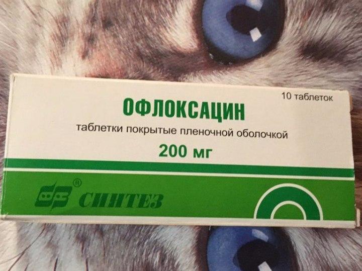 офлоксацин инструкция