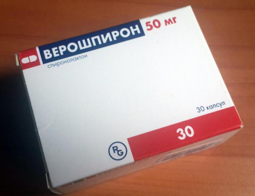 верошпирон 25 мг инструкция по применению