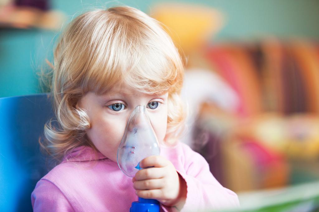 небулайзер и астма