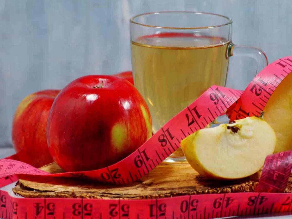 Как пить яблочный уксус при похудении