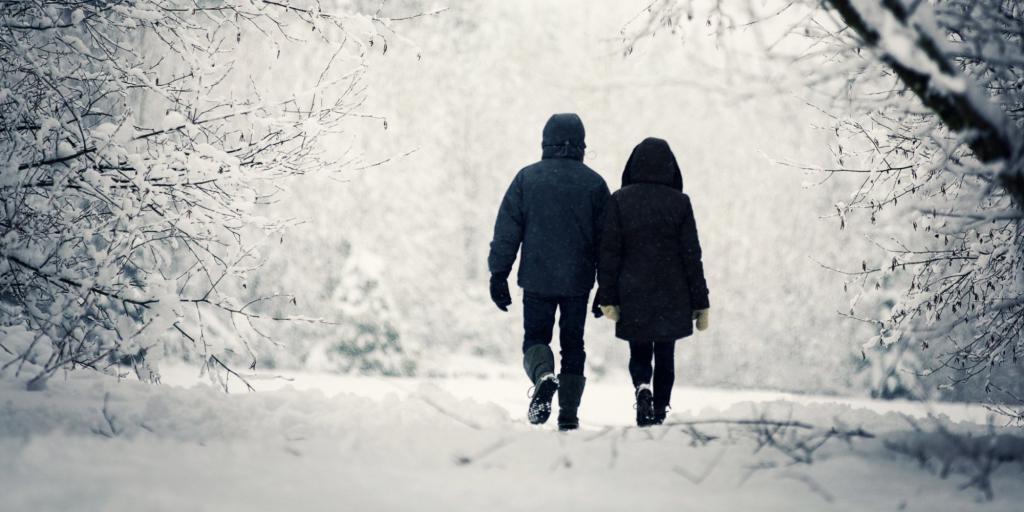 прогулка на холоде