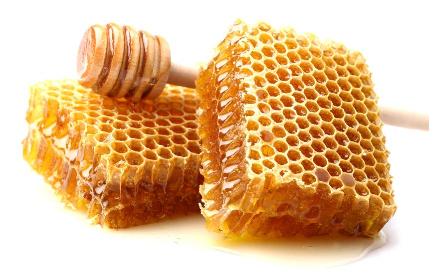 Лечение медовыми сотами