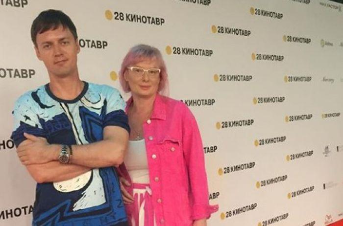 Юлия с супругом