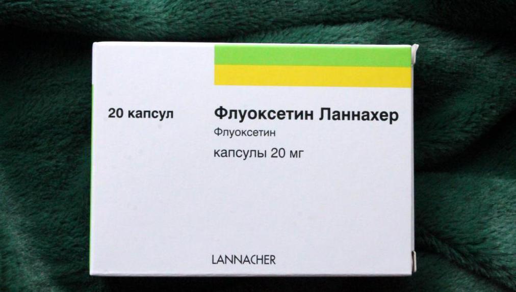"Лекарство ""Флуоксетин Ланнахер"""