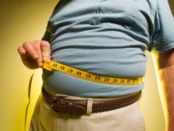 Ожирение - причина гепатоза