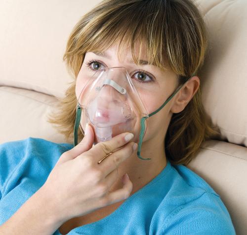 Сеанс кислородотерапии
