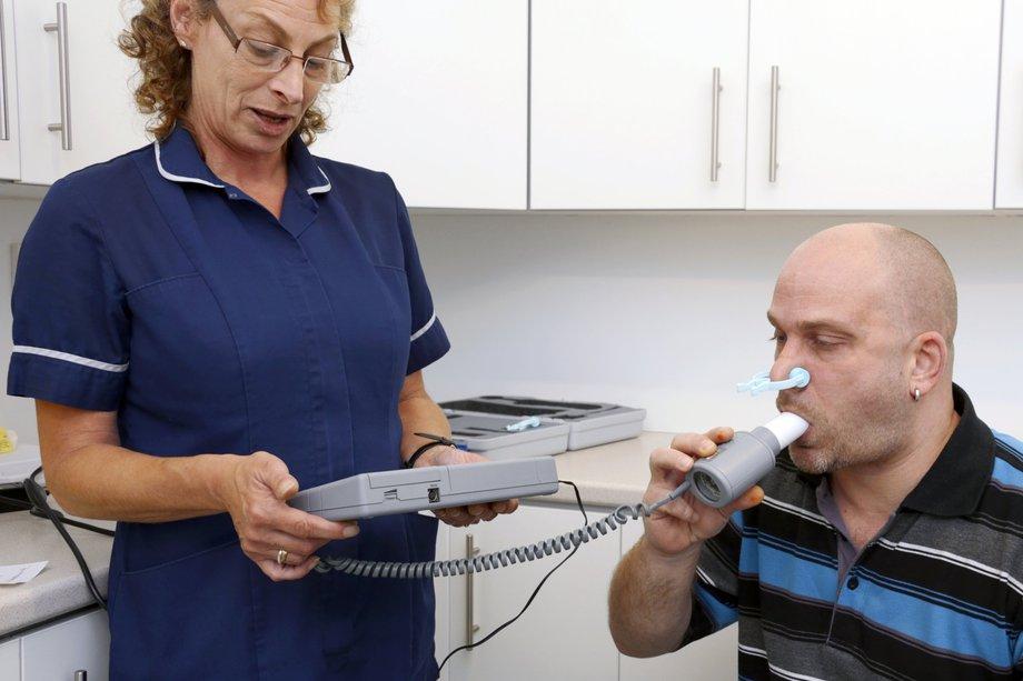 Исследование дыхательной функции (спирометрия)