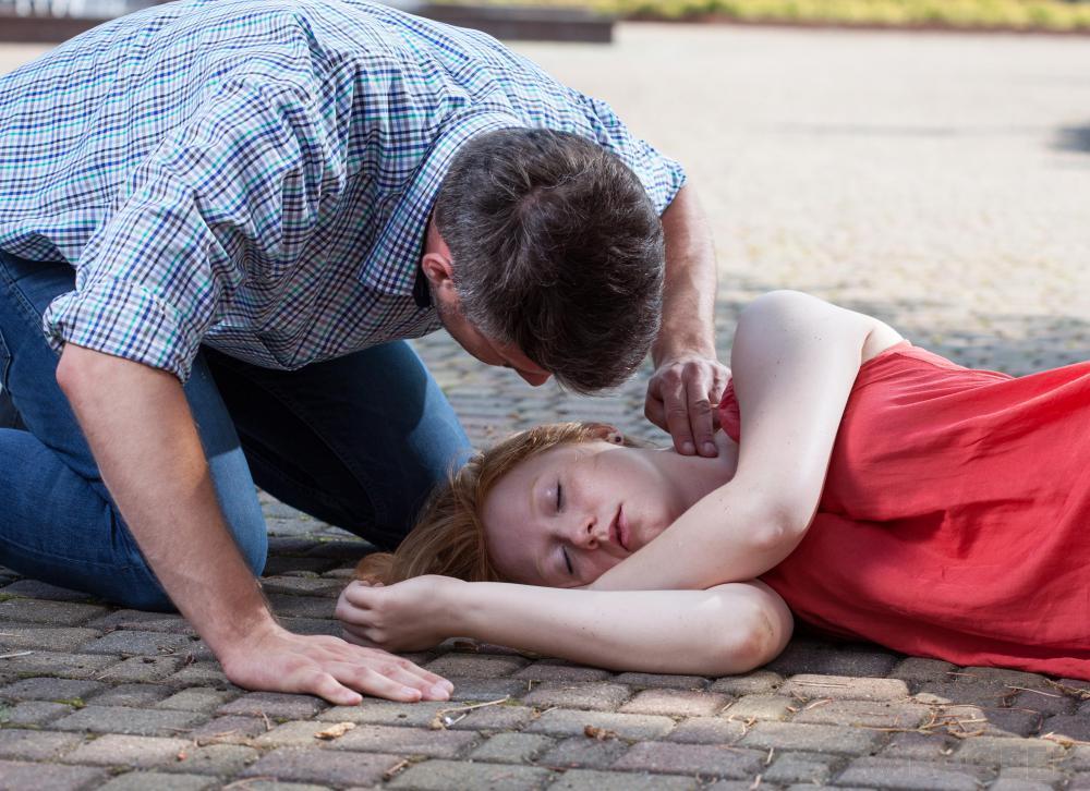 Потеря сознания при эпилептиформном приступе